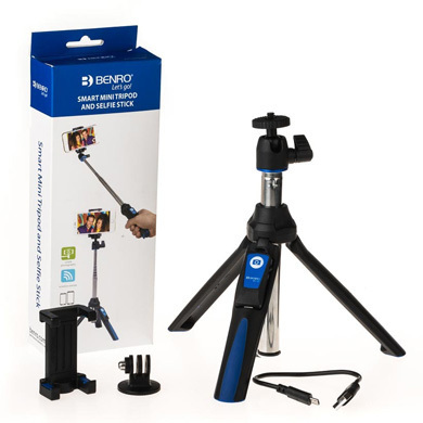 Benro Smart Mini Tripod e Selfie Stick