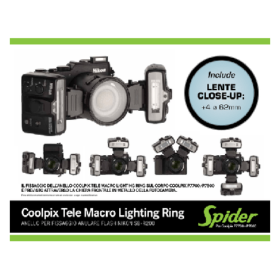 Nital Coolpix Tele Macro Lighting Ring