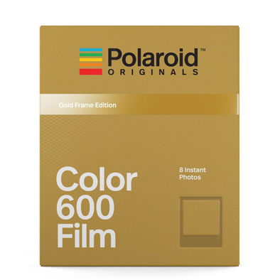 Polaroid 600 - Color - Gold Frame Edition