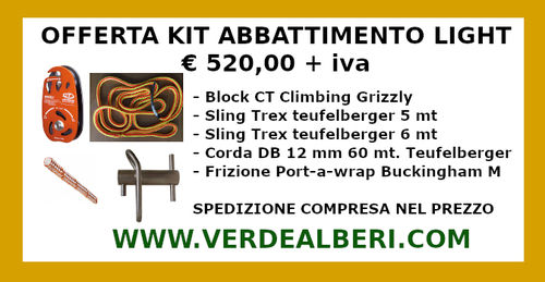 KIT ABBATTIMENTO LIGHT