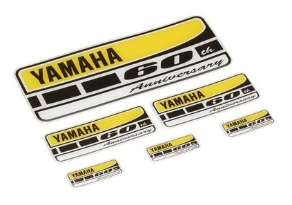 Yamaha set adesivi 60th anniversary