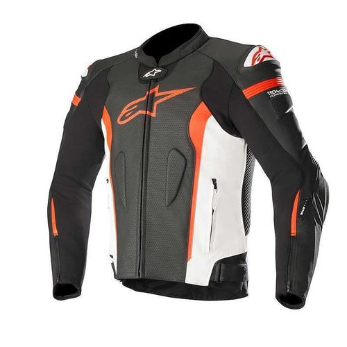 Alpinestars giacca pelle Missile Tech Air compatibile