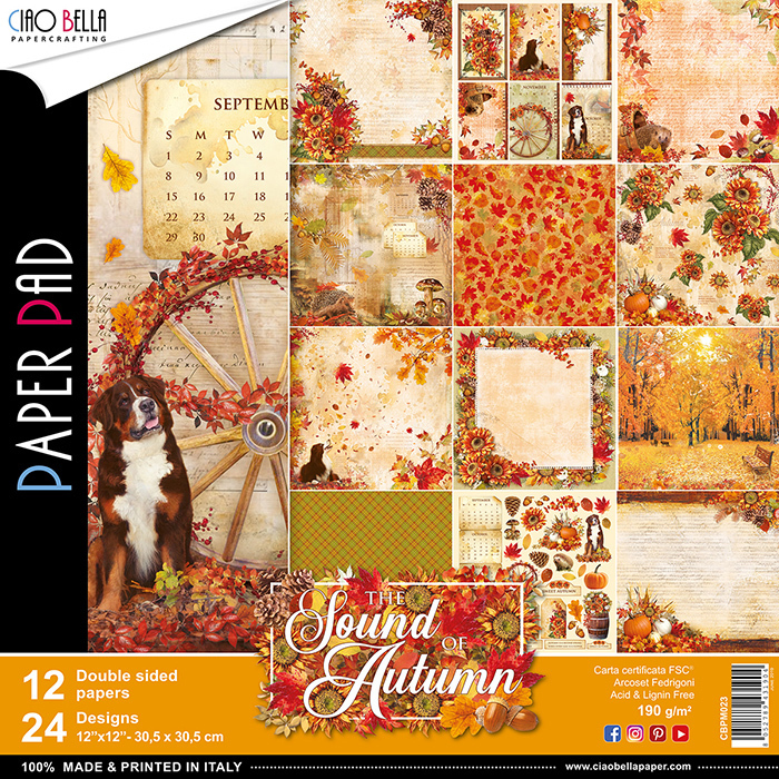 ALBUM CIAOBELLA - THE SOND OF AUTUMN 30,5X30,5CM