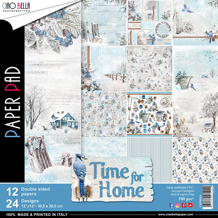 ALBUM CIAOBELLA - TIME FOR HOME 30,5X30,5CM
