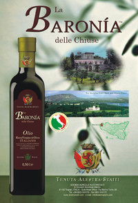 """La Baronìa delle Chiuse"" HQ Classic - ExtraVirgin Olive Oil box 12 bottles by 250ml"