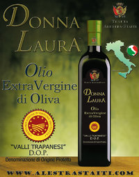 """Donna Laura"" D.O.P. - ExtraVirgin Olive Oil box 6 bottles by 500ml"