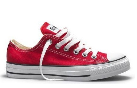converse all star rosse basse