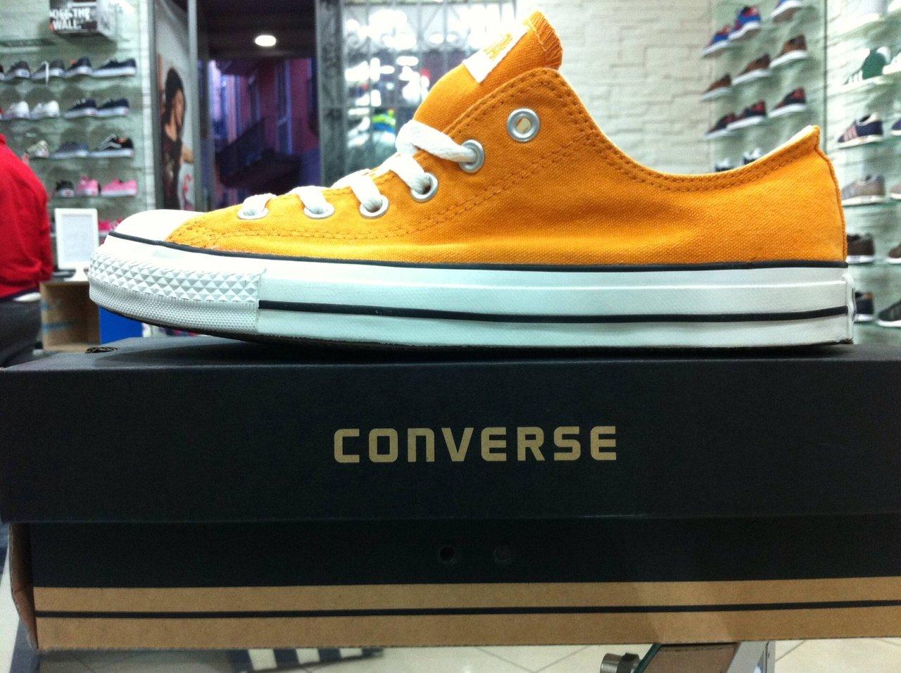 Converse All Star basse arancio-0001