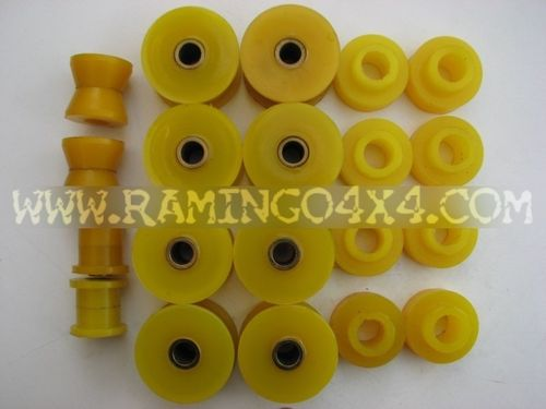COMPLETE KIT BUSHINGS TOYOTA LJ70 TO 90