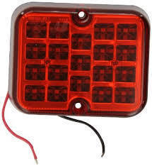 RING - SQUARE FOG LED TAIL LIGHT