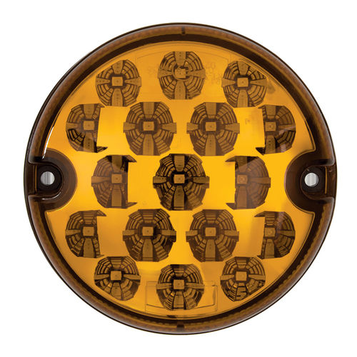 RING - 95 MM AMBER INDICATOR LED LIGHT