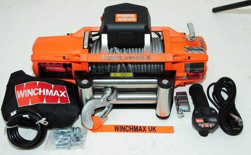 WINCHMAX - NEW SL 13000 WIRE ROPE ELECTRIC WINCH -12V