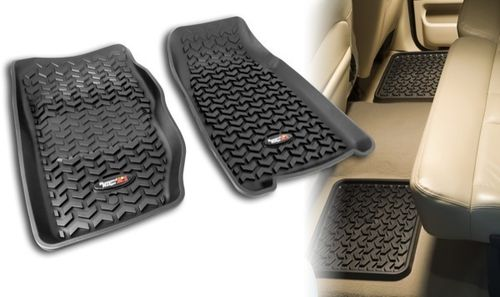 RUGGED RIDGE - KIT COMPLETO TAPPETINI GOMMA JEEP CHEROKEE XJ