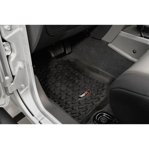 RUGGED RIDGE - FRONT FLOOR LINERS JEEP WRANGLER JK 2/4 DOORS