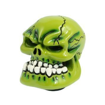 GEAR KNOB GREEN SKELETOR