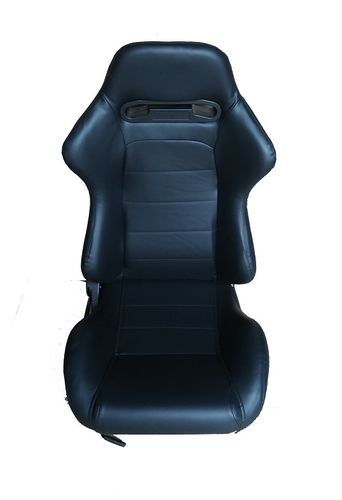 ECO-LEATHER RACING SEATS - BLACK