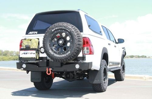 AFN - REAR BUMPER WITH TIRE CARRIER/JERRY CAN TOYOTA HILUX REVO