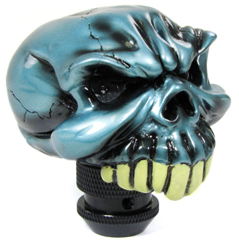 GEAR KNOB BLUE SKELETOR