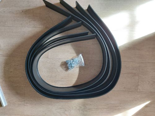 UNIVERSAL FLEX RUBBER FLARES 55 MM