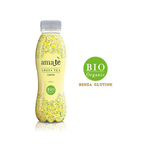 Tè al limone bevanda biologica AMA_TE in PET cl. 35,5
