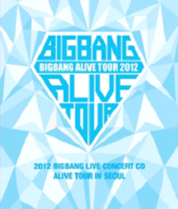 Big Bang - 2012 Big Bang Live Concert [Alive Tour In Seoul] [Booklet+YG Family Card(First Limited)]