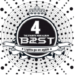 BEAST Mini Album Vol. 4 - Lights Go On Again (CD+DVD) (Asia Limited Version)