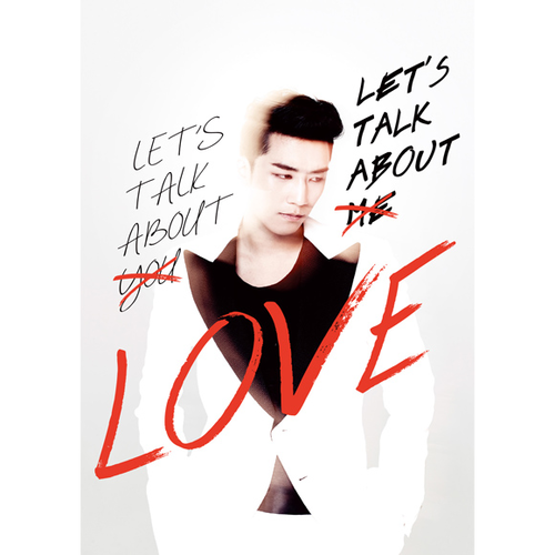 Big Bang : Seung Ri - Mini Album Vol.2 [LETS TALK ABOUT LOVE] (RED&WHITE Ver.) [+Booklet]