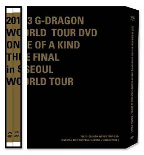 G Dragon:2013 G-DRAGON WORLD TOUR DVD [ONE OF A KIND in SEOUL+ WORLD TOUR] (+Postcard3p)