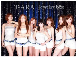 T-ARA:Jewelry box [SAPPHIRE EDITION] (ALBUM+DVD)(First Press Limited Edition)(Japan Version)