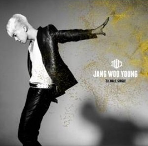 JANG WOO YOUNG (2PM) 1st Single Album - 23,Male,Single [Gold Edition]