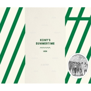 IKON - KONY'S SUMMERTIME(2DVD+300p Photobook) (LIMITED EDITION)