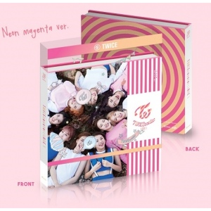 Twice - Mini Album Vol.3 COASTER (NEON MAGENTA Ver.)