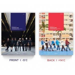 MONSTA X - Temperature (DVD+Photobook)