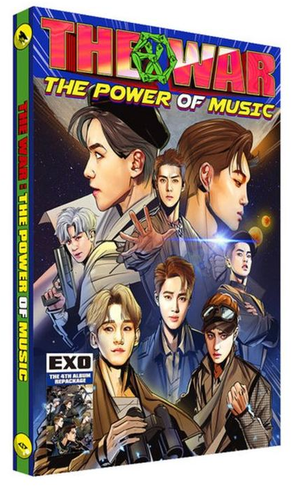 EXO Album Repackage Vol.4 - The War (The Power Of Music) (Chinese Ver.)(Taiwan ver.)