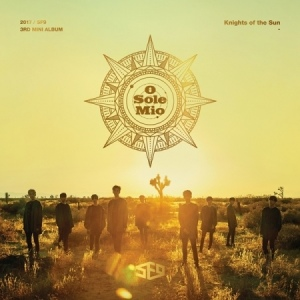 SF9  MINI ALBUM VOL.3 - KINGHTS OF THE SUN