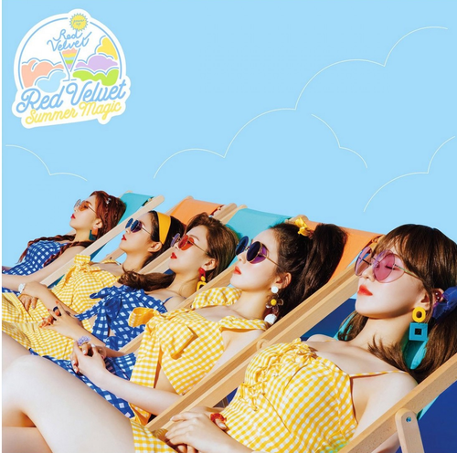 RED VELVET Summer Mini Album - Summer Magic (Random Cover) (1st Limited Edition)+Poster in Tubo