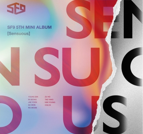 SF9 Mini Album Vol.5 - Sensuous (Exploded Emotion Ver)