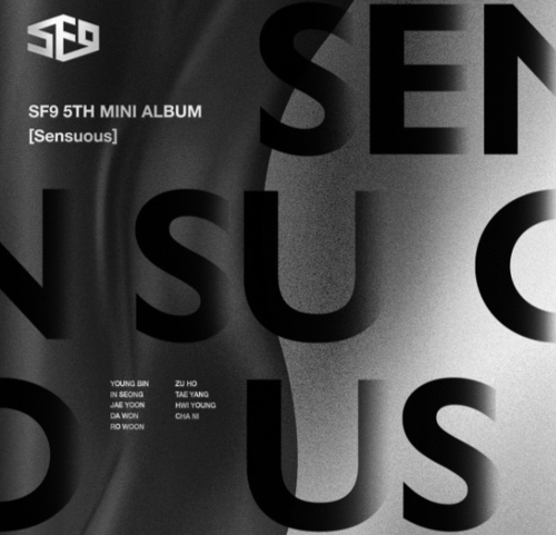 SF9 Mini Album Vol.5 - Sensuous (Hidden Emotion Ver)
