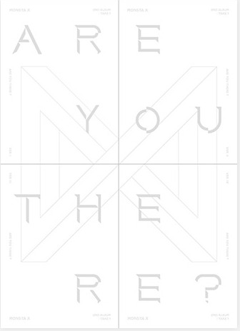 MONSTA X Album Vol.2 - TAKE.1 ARE YOU THERE?(Random Ver)+1Random Poster in Tubo