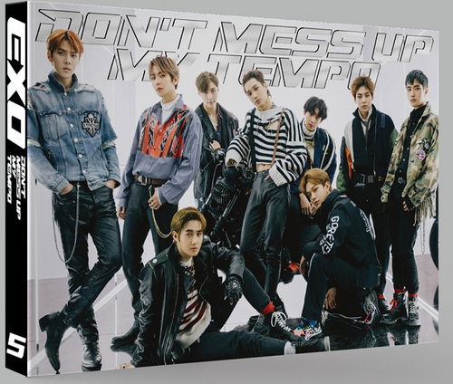 EXO Album Vol.5 - DON'T MESS UP MY TEMPO (Vivace Ver)+Poster in Tubo