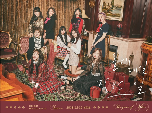 TWICE Special Album Vol.3 - The Year Of YES (Random Ver)