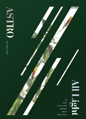 ASTRO  Album Vol.1 - All Light (GREEN Ver.)