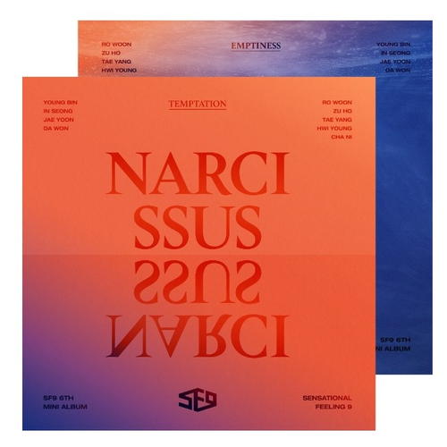 SF9 Mini Album Vol.6 - NARCISSUS (Emptiness  ver.)