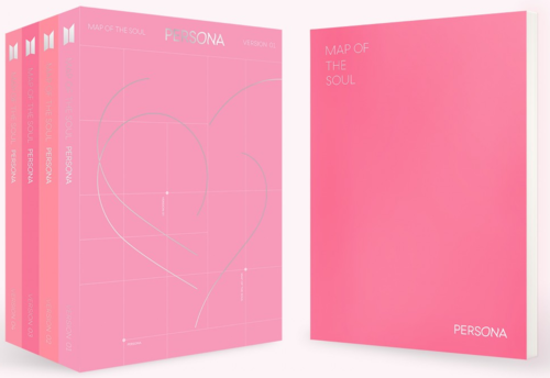 BTS - MAP OF THE SOUL : PERSONA ( Version 04)