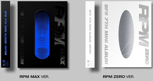 SF9 Mini Album Vol.7 - RPM (Random Ver)