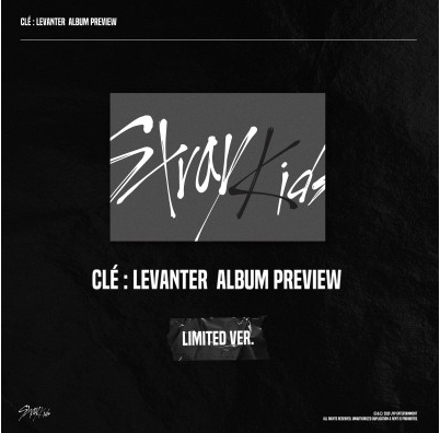 Stray Kids - Clé : LEVANTER (Limited Ver)