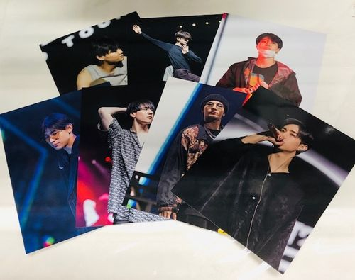 GOT7 WORLD TOUR POSTER CARD SET