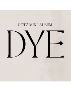 GOT7 Mini Album - DYE (Random ver.)