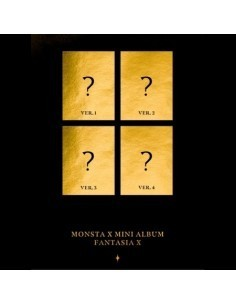 MONSTA X Mini Album - FANTASIA X (Ver. 4)