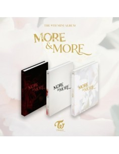TWICE 9th Mini Album - MORE & MORE (A Ver)